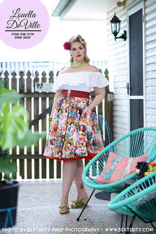 Louella DeVille Senorita Bettie Skirt