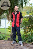 Louella DeVille Mens Bowler Shirt Red