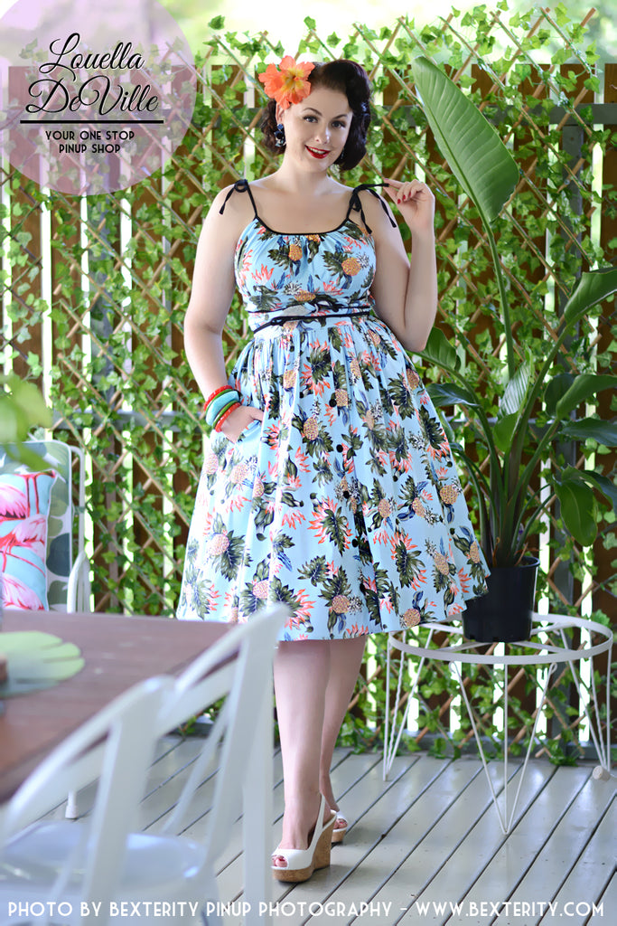 Louella DeVille Bettie Skirt Pina Colada