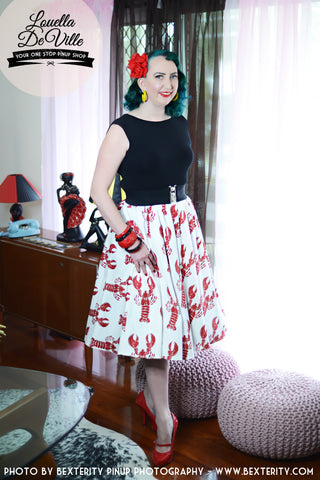 Louella DeVille In A Pinch Bettie Skirt