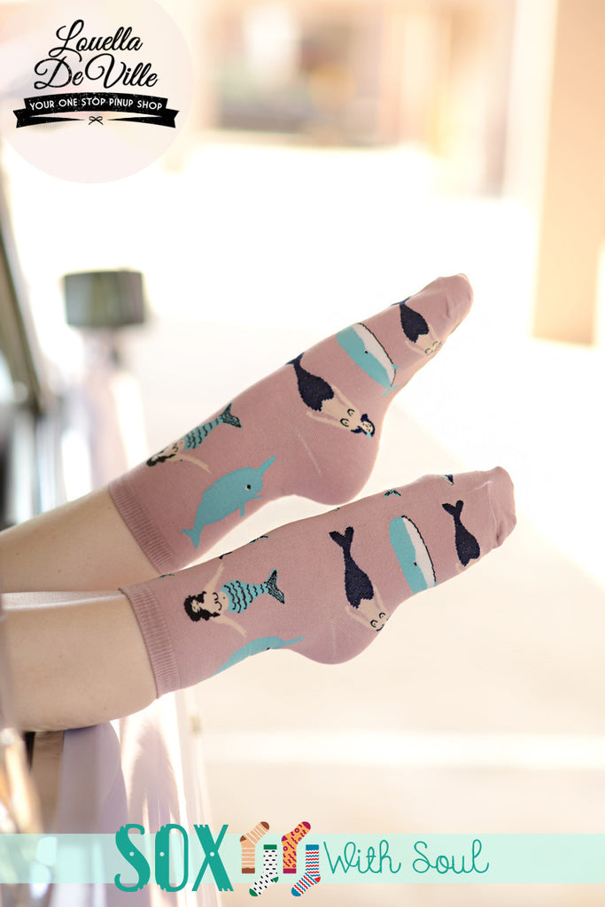 Mermaid & Merman Sox