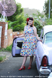Louella DeVille Catch Of The Day Draper Dress