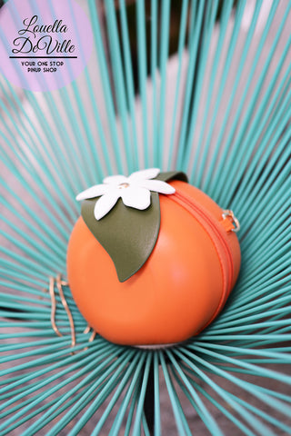 Feeling Fruitie Novelty Orange Handbag Purse