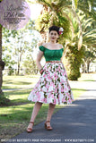 Louella DeVille Dolly Flossy Lemon 1957 Skirt