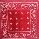 Paisley Bandana Head Wrap (Various Colours)