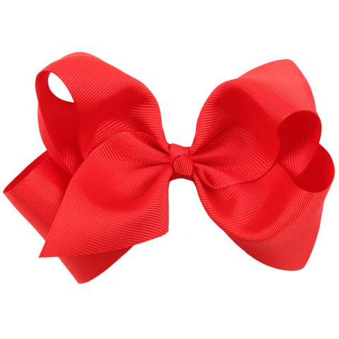 Lil Lulu Big Bow Hair Clip (Various Colours)