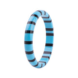 Jill Stripe Stacker Resin Fakelite Bangle
