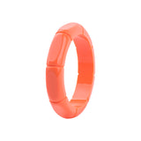 Marnie Smooth Bamboo Resin Fakelite  Bangle (Various Colours!)