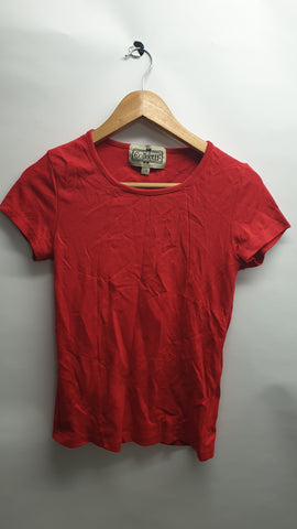 Pre loved collectif red Alice top