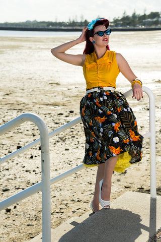 Louella DeVille Tiki Luau Bettie Skirt