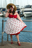 Louella DeVille Cherry Buoys Polly Dress