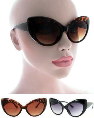 Round Cat Eye Sunglasses KS1434