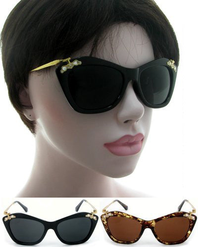 Vintage Diamonte Sunglasses 1630