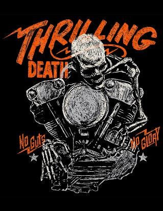 Steady Thrilling Death Mens Tee Black
