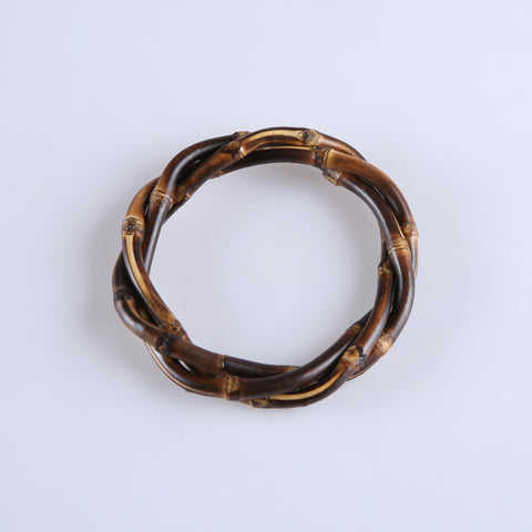 Tribe Carved Fakelite Bangle (Various Colours!)