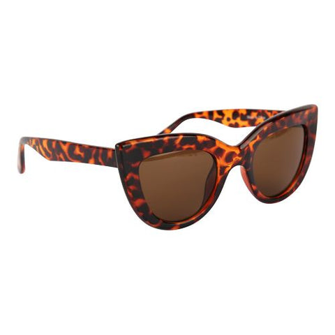 Luxury Tortoise Vintage Cats Eye Sunglasses