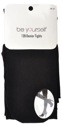 Winter Black Opaque Tights Stockings 120 Denier