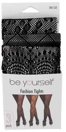 Winter Lace Tights 3 Pack