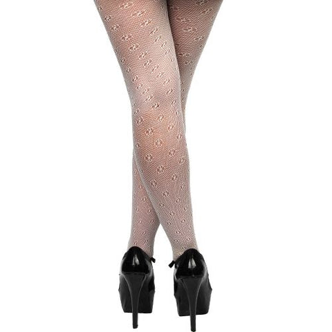 What Katie Did H2007 Retro Seamed Tights Black (15 denier)