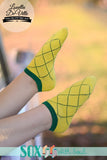 Pineapple Anklet Sox