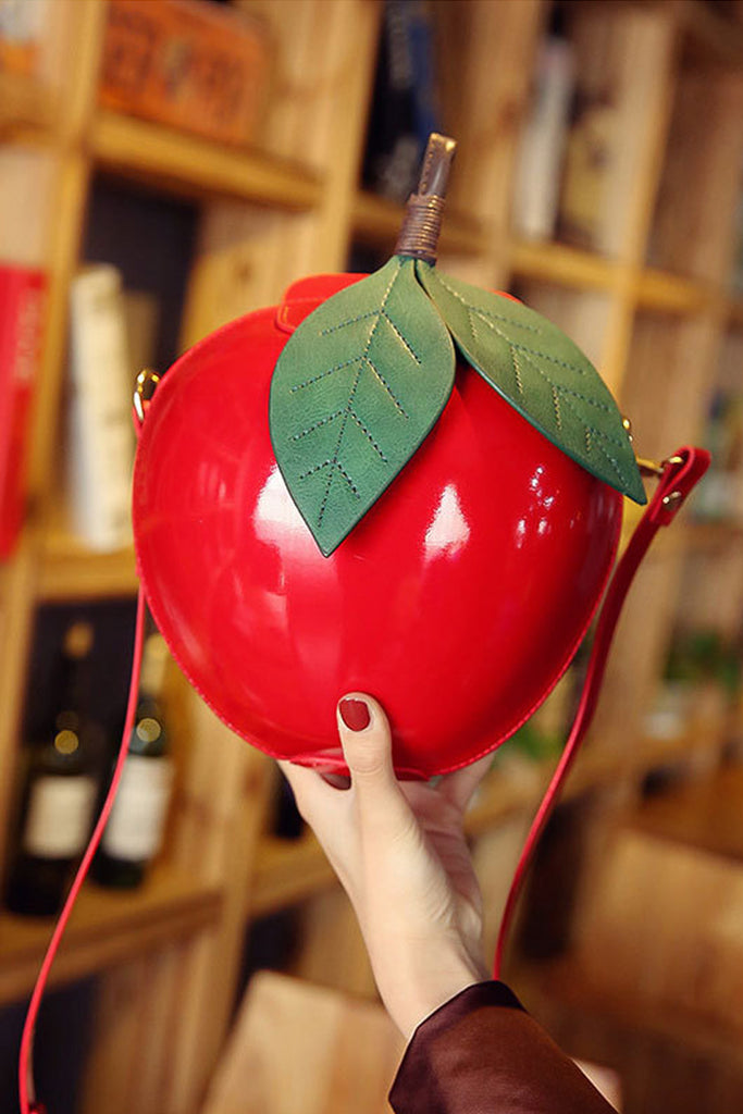 Novelty Apple Handbag (2 Colours!)