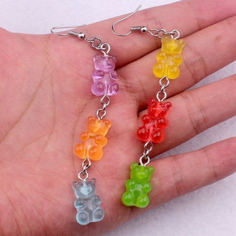Louella DeVille Gummy Bear Drops Earrings