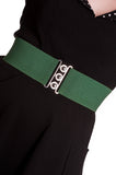 Hell Bunny Elastic Waist Belt (Various Colours!)