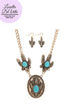 All Hallows Eve Gypsy Life Cactus Necklace & Earring Set