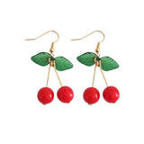Sweet Cherry Pie Hook Earrings
