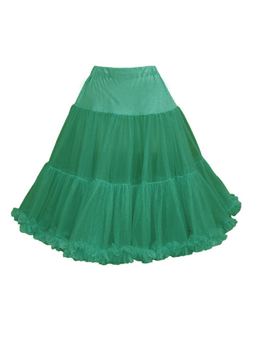 Louella DeVille Luxurious Single Layer Petticoat Navy 26""