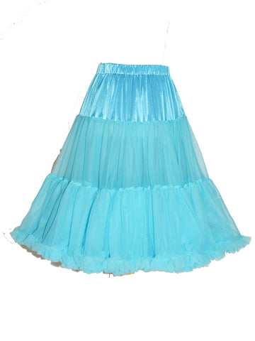 Louella DeVille Luxurious Single Layer Petticoat Chocolate 26""