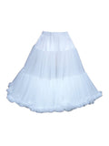 Louella DeVille Luxurious Double Layer Petticoat White 27