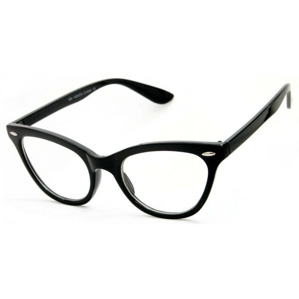 CLEAR LENS Cat Eye Glasses Juliette 1404 (Various Colours)