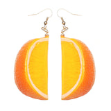 Louella DeVille Feelin' Fruitie Earring Drops (Oranges & Limes!)