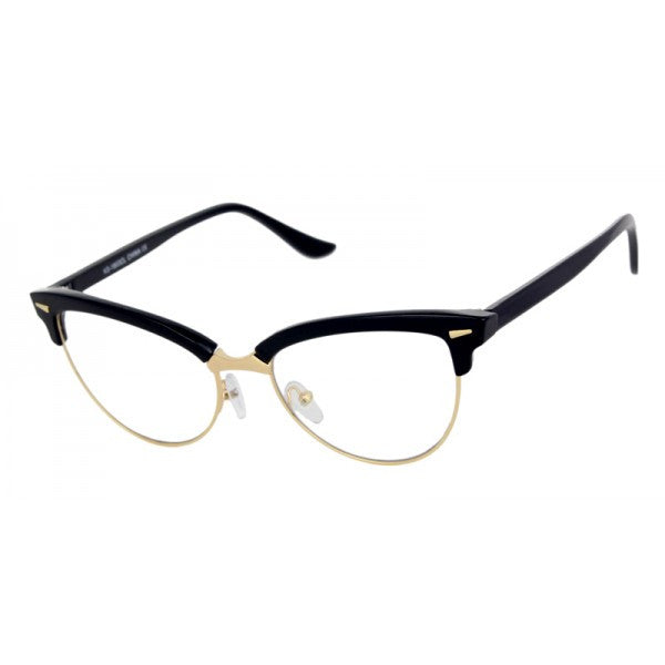 Natasha Clear Lens Cat Eye Glasses 1803 (Various Colours)