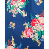 Lindy Bop Lana Blue Floral Rabbit Dress