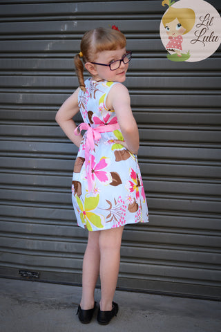 Lil Lulu Spring Time Garden Dress