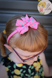 Lil Lulu Polka Dot Bow Headband (Various Colours!)