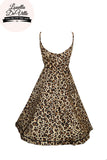 Louella DeVille Loretta Leopard Love Summer Dress