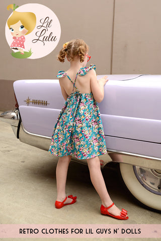 Lil Lulu Lucy Floral Dress