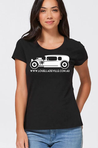 Louella DeVille Hot Rod Tee (Various Colours)