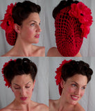 PinUp Crochet Retro Snood Various Colours