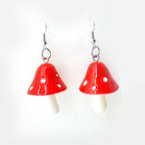 For Fox Sake Mushroom Earrings (2 Colours!)