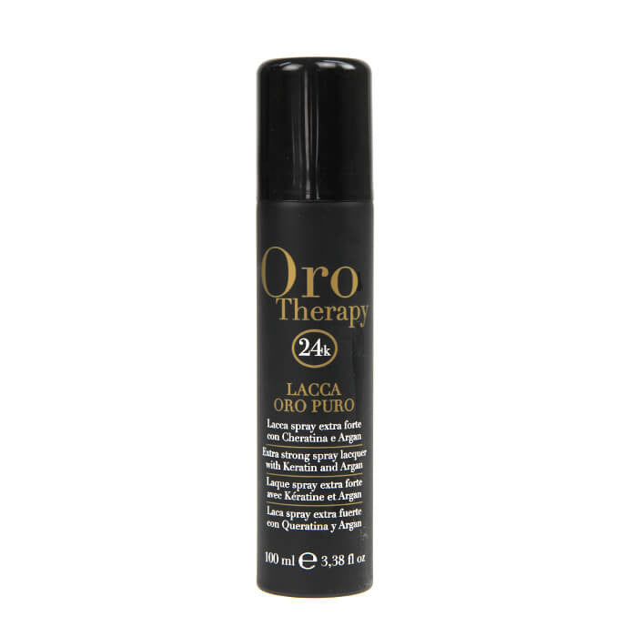 Fanola Oro Therapy Extra Strong Lacquer Spray 100ml