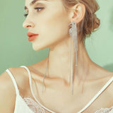 Diamonte Parrot Statement Earrings