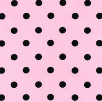 Nylon Reproduction 50s Scarf Pink Polka Dot