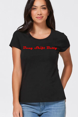 Louella DeVille Custom PinUp Name Tee (Various Colours)