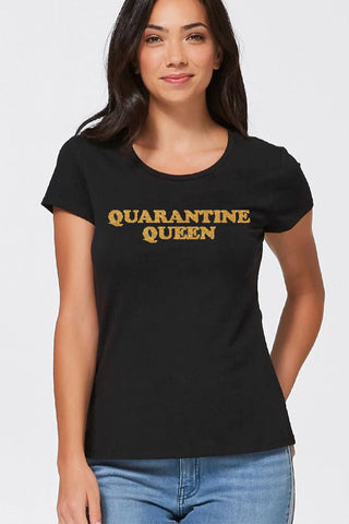 Louella DeVille Quarantine Queen Tee (Various Colours)
