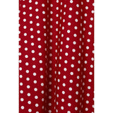 Dolly & Dotty Shirley Full Circle PinUp Perfection Skirt Red