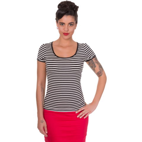 Dolly & Dotty Gina Summer Top Stripe